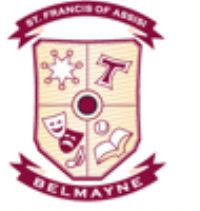 St. Francis of Assisi PS, Belmayne Logo