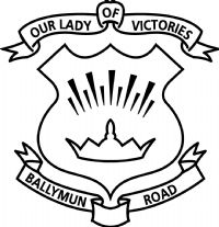 Our Lady of Victories BNS, Ballymun Logo